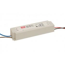 Driver para tira LED 12V/5.0A 60W