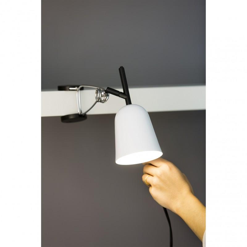 Faro studio lampara pinza blanca ixotu - Lamparas bilbao ...